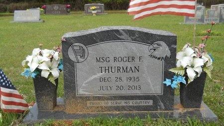 THURMAN, ROGER F - Webster County, Louisiana | ROGER F THURMAN - Louisiana Gravestone Photos