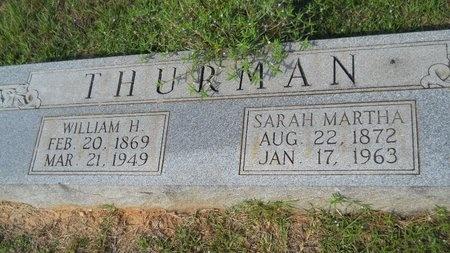 THURMAN, SARAH MARTHA - Webster County, Louisiana | SARAH MARTHA THURMAN - Louisiana Gravestone Photos