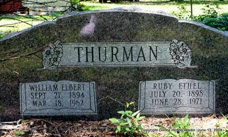 KING THURMAN, RUBY ETHEL - Webster County, Louisiana | RUBY ETHEL KING THURMAN - Louisiana Gravestone Photos