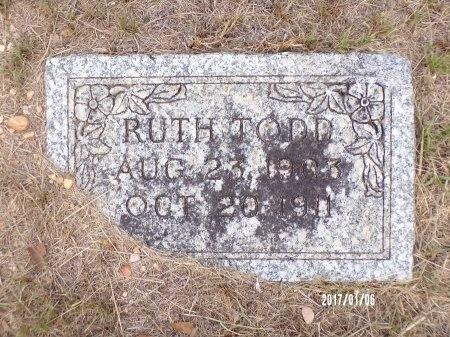 TODD, RUTH - Webster County, Louisiana | RUTH TODD - Louisiana Gravestone Photos