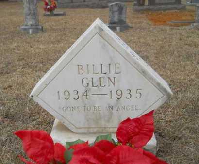 UNKNOWN, BILLIE GLEN - Webster County, Louisiana | BILLIE GLEN UNKNOWN - Louisiana Gravestone Photos