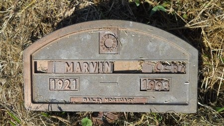 UNKNOWN, MARVIN C - Webster County, Louisiana | MARVIN C UNKNOWN - Louisiana Gravestone Photos