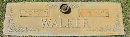 WALKER, ANDREW CLAUDIUS B - Webster County, Louisiana | ANDREW CLAUDIUS B WALKER - Louisiana Gravestone Photos