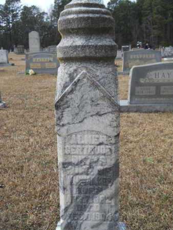 WALKER, ALMER GERTRUDE - Webster County, Louisiana | ALMER GERTRUDE WALKER - Louisiana Gravestone Photos