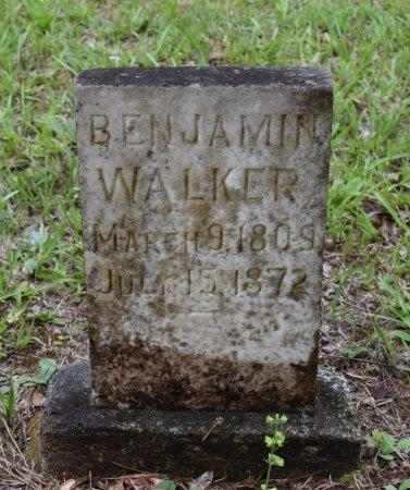 WALKER, BENJAMIN - Webster County, Louisiana | BENJAMIN WALKER - Louisiana Gravestone Photos