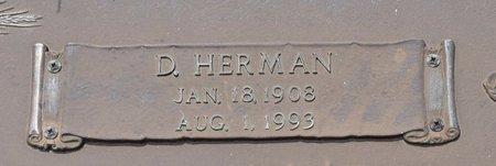 WALKER, D HERMAN (CLOSE UP) - Webster County, Louisiana | D HERMAN (CLOSE UP) WALKER - Louisiana Gravestone Photos