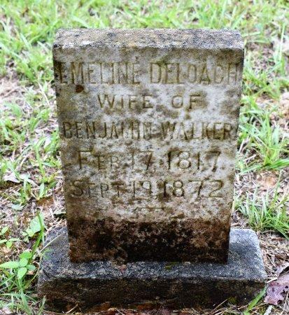 WALKER, EMELINE - Webster County, Louisiana | EMELINE WALKER - Louisiana Gravestone Photos
