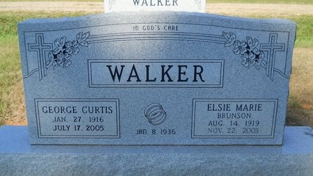 WALKER, GEORGE CURTIS - Webster County, Louisiana | GEORGE CURTIS WALKER - Louisiana Gravestone Photos