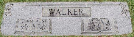 WALKER, VERNA - Webster County, Louisiana | VERNA WALKER - Louisiana Gravestone Photos