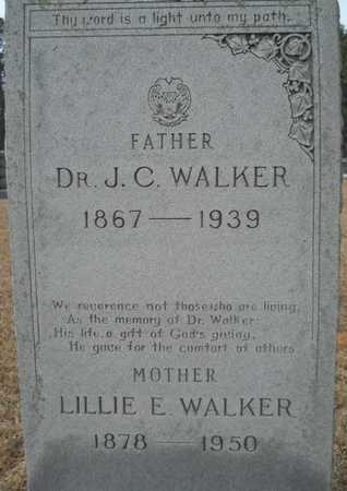 WALKER, LILLIE E (CLOSE UP) - Webster County, Louisiana | LILLIE E (CLOSE UP) WALKER - Louisiana Gravestone Photos