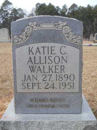 WALKER, KATIE C - Webster County, Louisiana | KATIE C WALKER - Louisiana Gravestone Photos
