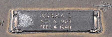 WALKER, NORMA L (CLOSE UP) - Webster County, Louisiana | NORMA L (CLOSE UP) WALKER - Louisiana Gravestone Photos