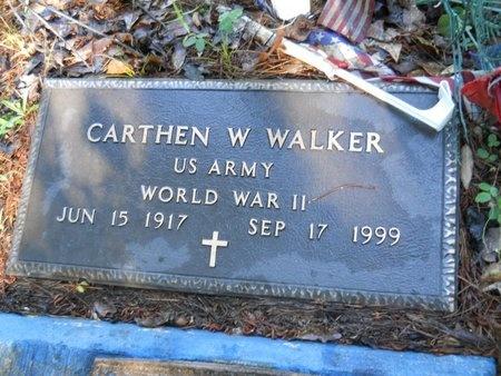 WALKER, CARTHEN W (VETERAN WWII) - Webster County, Louisiana | CARTHEN W (VETERAN WWII) WALKER - Louisiana Gravestone Photos