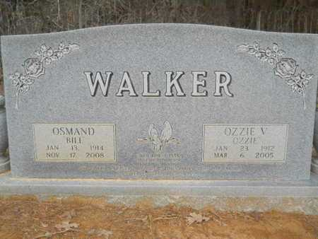 "WALKER, OSMAND ""BILL"" - Webster County, Louisiana 