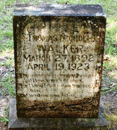 WALKER, THOMAS NICHOLLS - Webster County, Louisiana | THOMAS NICHOLLS WALKER - Louisiana Gravestone Photos