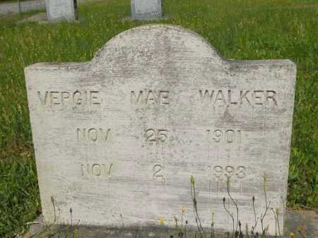 WALKER, VERGIE MAE - Webster County, Louisiana | VERGIE MAE WALKER - Louisiana Gravestone Photos
