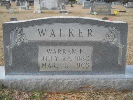 WALKER, WARREN HUGH - Webster County, Louisiana | WARREN HUGH WALKER - Louisiana Gravestone Photos