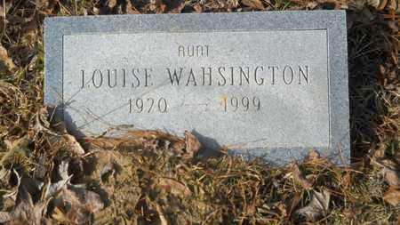 WASHINGTON, LOUISE - Webster County, Louisiana   LOUISE WASHINGTON - Louisiana Gravestone Photos