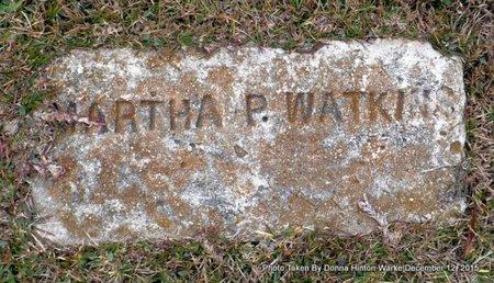 WATKINS, MARTHA - Webster County, Louisiana | MARTHA WATKINS - Louisiana Gravestone Photos