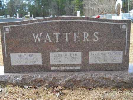 SANDERS WATTERS, ANNIE MAE - Webster County, Louisiana   ANNIE MAE SANDERS WATTERS - Louisiana Gravestone Photos