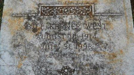 WEST, BILL KEPNER - Webster County, Louisiana   BILL KEPNER WEST - Louisiana Gravestone Photos