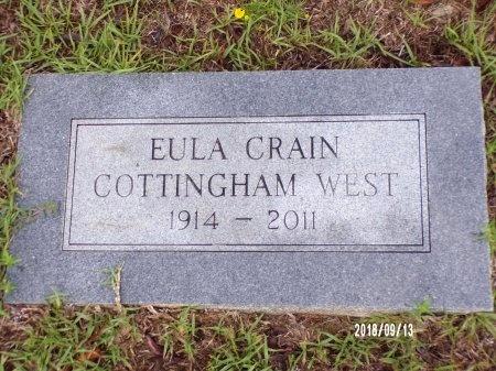 WEST, EULA - Webster County, Louisiana   EULA WEST - Louisiana Gravestone Photos