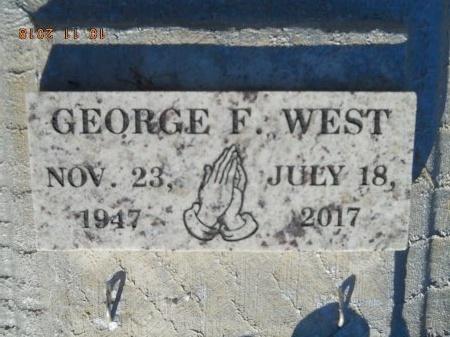 WEST, GEORGE F - Webster County, Louisiana   GEORGE F WEST - Louisiana Gravestone Photos