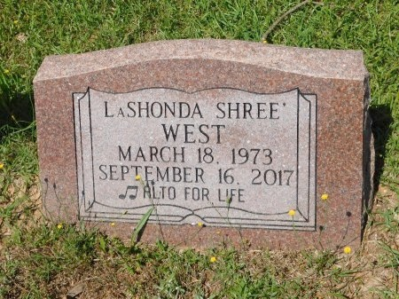 WEST, LASHONDA SHREE' - Webster County, Louisiana   LASHONDA SHREE' WEST - Louisiana Gravestone Photos