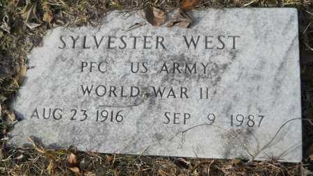 WEST, SYLVESTER (VETERAN WWII) - Webster County, Louisiana | SYLVESTER (VETERAN WWII) WEST - Louisiana Gravestone Photos