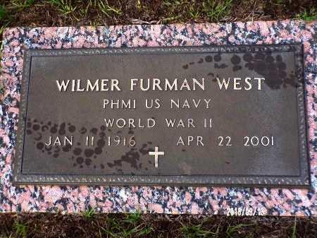 WEST  , WILMER FURMAN (VETERAN WWII) - Webster County, Louisiana | WILMER FURMAN (VETERAN WWII) WEST   - Louisiana Gravestone Photos