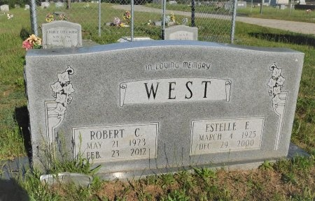 WEST, ESTELLE E - Webster County, Louisiana | ESTELLE E WEST - Louisiana Gravestone Photos