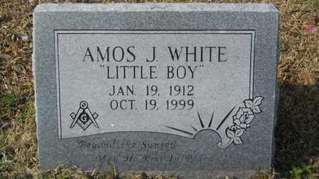 WHITE, AMOS J - Webster County, Louisiana | AMOS J WHITE - Louisiana Gravestone Photos