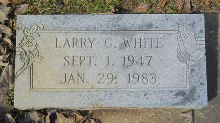 WHITE, LARRY G - Webster County, Louisiana | LARRY G WHITE - Louisiana Gravestone Photos