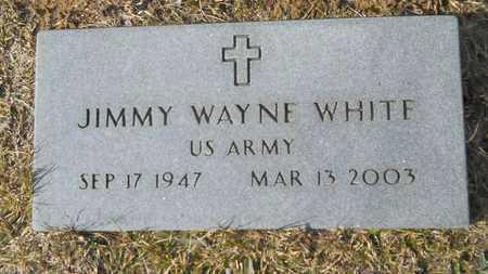 WHITE, JIMMY WAYNE (VETERAN) - Webster County, Louisiana   JIMMY WAYNE (VETERAN) WHITE - Louisiana Gravestone Photos