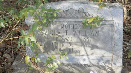 WILLIAM, VIOLA T - Webster County, Louisiana | VIOLA T WILLIAM - Louisiana Gravestone Photos