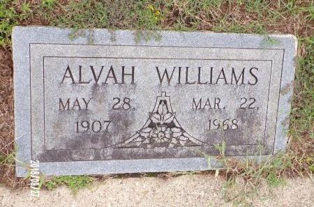 WILLIAMS, ALVAH - Webster County, Louisiana   ALVAH WILLIAMS - Louisiana Gravestone Photos