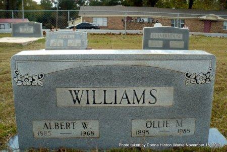 WILLIAMS, ALBERT WESLEY - Webster County, Louisiana | ALBERT WESLEY WILLIAMS - Louisiana Gravestone Photos