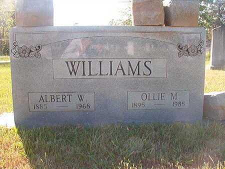 WILLIAMS, OLLIE - Webster County, Louisiana | OLLIE WILLIAMS - Louisiana Gravestone Photos