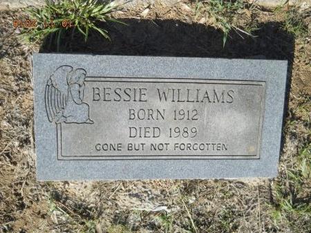 WILLIAMS, BESSIE - Webster County, Louisiana | BESSIE WILLIAMS - Louisiana Gravestone Photos