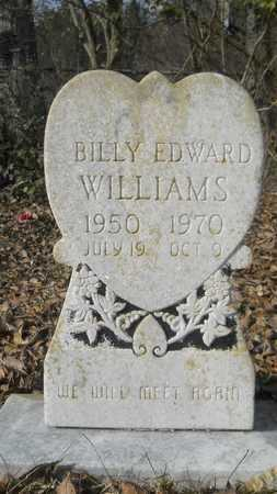 WILLIAMS, BILLY EDWARD - Webster County, Louisiana   BILLY EDWARD WILLIAMS - Louisiana Gravestone Photos