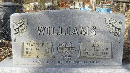 WILLIAMS, BEATRICE S - Webster County, Louisiana | BEATRICE S WILLIAMS - Louisiana Gravestone Photos