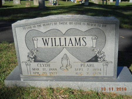 WILLIAMS, PEARL - Webster County, Louisiana | PEARL WILLIAMS - Louisiana Gravestone Photos