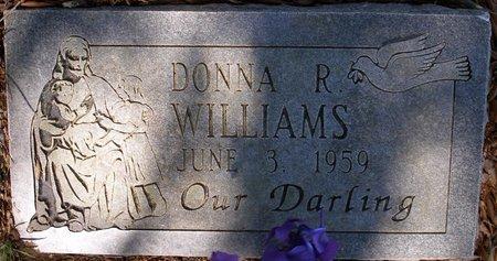WILLIAMS, DONNA R - Webster County, Louisiana   DONNA R WILLIAMS - Louisiana Gravestone Photos