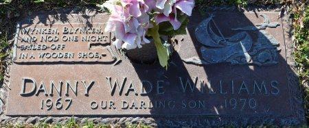 WILLIAMS, DANNY WADE - Webster County, Louisiana   DANNY WADE WILLIAMS - Louisiana Gravestone Photos