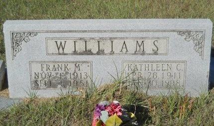 WILLIAMS, FRANK M - Webster County, Louisiana | FRANK M WILLIAMS - Louisiana Gravestone Photos