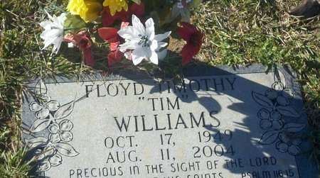 """WILLIAMS, FLOYD TIMOTHY """"TIM"""" - Webster County, Louisiana 