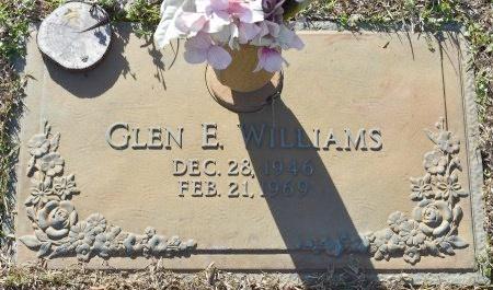 WILLIAMS, GLEN E - Webster County, Louisiana | GLEN E WILLIAMS - Louisiana Gravestone Photos