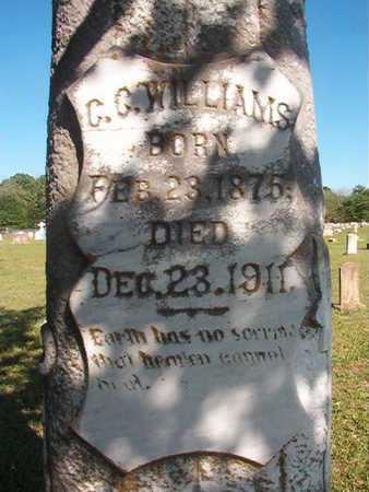 WILLIAMS, G G - Webster County, Louisiana | G G WILLIAMS - Louisiana Gravestone Photos