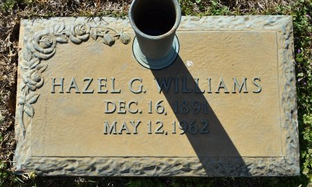 WILLIAMS, HAZEL G - Webster County, Louisiana | HAZEL G WILLIAMS - Louisiana Gravestone Photos
