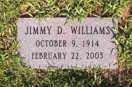 WILLIAMS, JIMMY D - Webster County, Louisiana   JIMMY D WILLIAMS - Louisiana Gravestone Photos